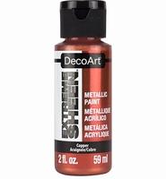 DecoArt metallic acrylverf DPM10 Extreme Sheen Copper
