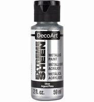 DecoArt metallic acrylverf DPM13 Extreme Sheen Silver