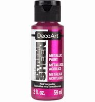 DecoArt metallic acrylverf DPM15 Extreme Sheen Pink Tourmali