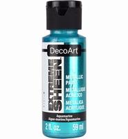 DecoArt metallic acrylverf DPM16 Extreme Sheen Aquarmarine