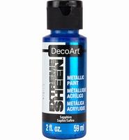 DecoArt metallic acrylverf DPM17 Extreme Sheen Sapphire
