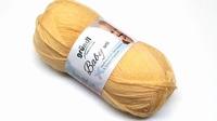Grundl wolle 3458-02 Babywol uni 50-gram Pastelgeel