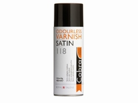 Cobra odourless varnish spray 118 geurloze vernis SATIN