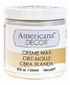 Deco Art Americana Decor Creme Wax: Clear ADM02-20  236ml