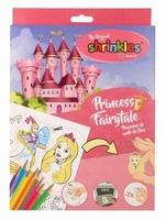 Shrinkles groot pakket ZMT002-005 Princess Fairytale NIEUW