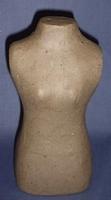 Papier mache TORSO vrouw 20cm 20 cm