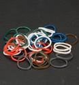 Band-It elastiekjes assorti incl.clips art. 6200-0801