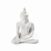Hindi art. 0160 zittende Boeddha 10x7,5cm