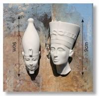 Egypthian Collection art.0032 Duo half farao 9cm