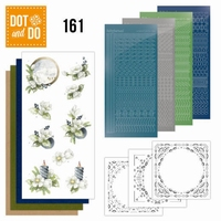 DOT and Do set 161 Amaryllis and Blue berries