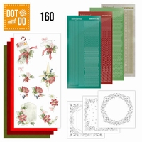 DOT and Do set 160 Red Christmas ornaments
