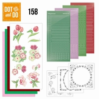 DOT and Do set 158 Red Flowers