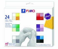 Fimo 8013 C24 1 Effect set colour pack 24 kleuren