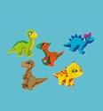 Add-ies 6380-0005 Dino Mite 5 stuks OP=OP