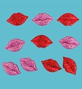 Add-ies 6380-0018 Glitter Lips 10 stuks OP=OP