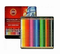 KOH-I-NOOR Polycolor 24 Artists colouring pencils KN362823