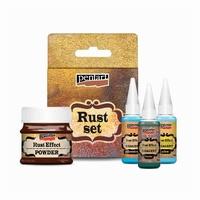 Pentart Rust effect verfset 501537