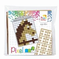 Pixelhobby 23025 medaillon startset Paard