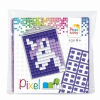 Pixelhobby 23028 medaillon startset Eenhoorn
