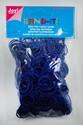 Band-It latex free rubber bands 6200-0813 Dark blue OPRUIMIN 600 stuks