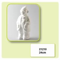 Styropor Clown met bolhoedje staand art. 21210 24 cm