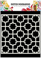 Dutch Doobadoo Mask Art Stencil 470.715.601 Tile