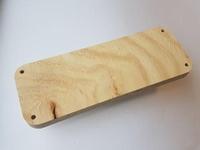 Craftemotions Macrame plank 815000/10012 Rechthoek 26,8x10cm