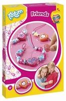 Totum 029705 DIY pakket sieraden maken Friends armbandjes