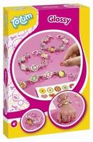 Totum 029347 DIY pakket sieraden maken Glossy sieraden