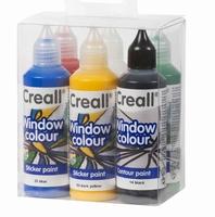 Creall glass 20600 Window color Primary set 6 kleuren