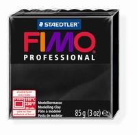 Fimo professional 009 Zwart