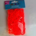 Band-it Glow in the dark Orange 854 latex free 600 stuks