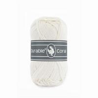 Durable Coral haakkatoen  326 Ivory
