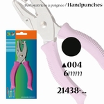 Vaessen Picture punch handpons circle 6mm art. 21438-004