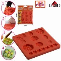 Mod Podge siliconen mold Flowers PD24889 9,52x9,52cm
