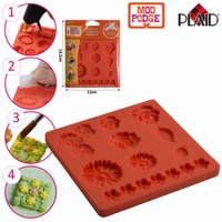 Mod Podge siliconen mold Flowers PD24889