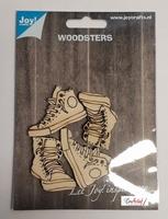 JoyCrafts Woodsters 6320/0015 Houten Sneakers (2 paar)