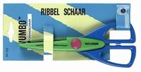 Reuser motief/figuurschaar SC-703 Fotorandschaar/Ribbelschaa