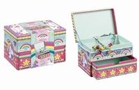 Totum 07154 Glam Mosaic box Unicorn / Eenhoorn sieradenbox