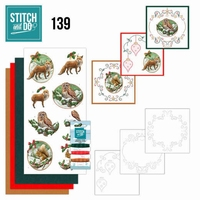Stitch and Do 139 Amy Design Christmas Animals Vos Uil Eekho