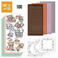 DOT and DO set 100 Katten DODO100, poeze, cats