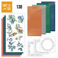 DOT and DO set 138 Blue Christmas DODO138