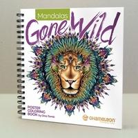 Chameleon CC0502 Coloring book Mandalas Gone Wild