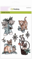 AANB. Craftemotions clearstamps 130501-3102 Christmas Pets 2