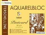 Aquarelblok 300 grams Schut Terschelling Classic Postcard 10,5x14,8cm 20v