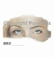 Powertex laserprint 379 Blue Eyes A4