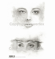 Powertex laserprint 386 Dream on girls A3