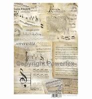 Powertex laserprint 377 Music A3