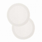 Papieren cupcake vormpjes Rico40.01 Wit 100stuks