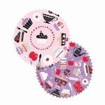 Papieren cupcake vormpjes Made by Me 60stuks art.40.04 60x30mm